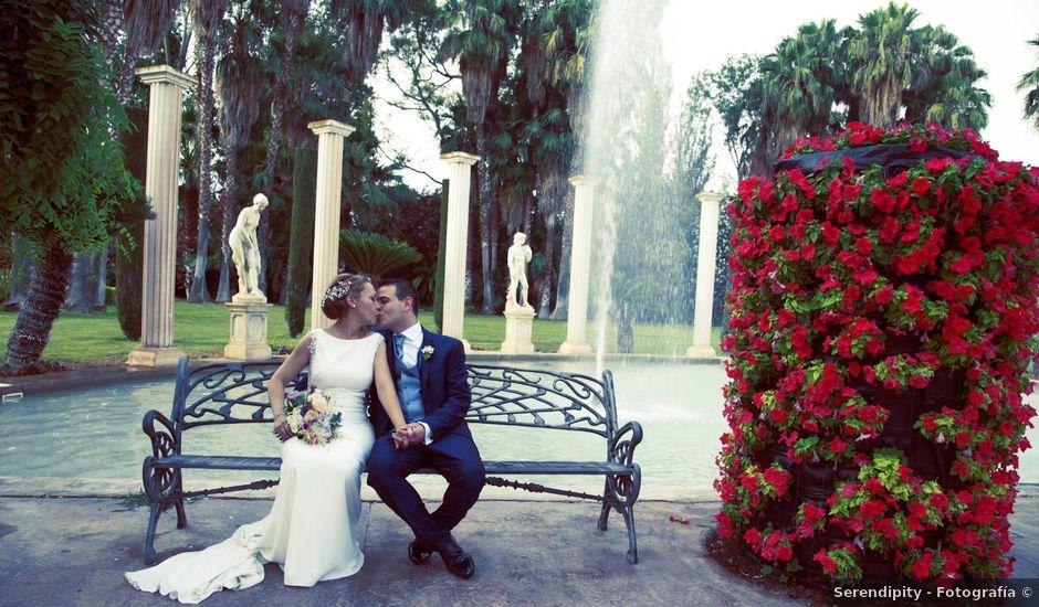 La boda de Oscar y Carol en El Puig, Valencia