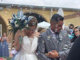 La boda de Auxi y Borja