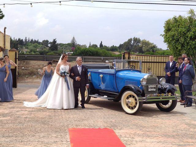La boda de Borja y Auxi en Chiclana De La Frontera, Cádiz 1