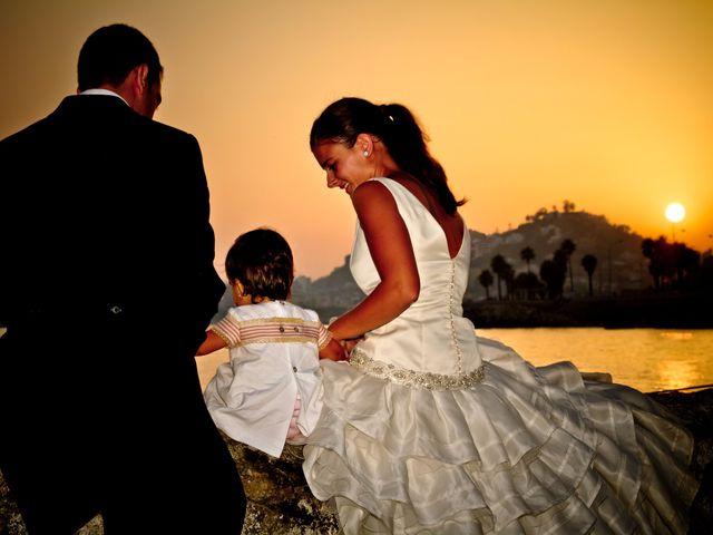 La boda de Guille y María en Málaga, Málaga 45
