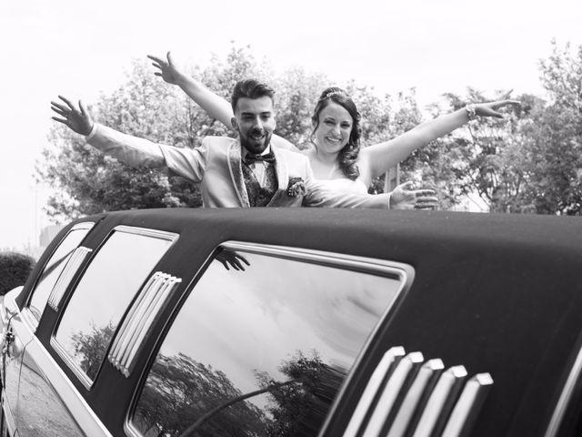 La boda de Omar y Sheila en Benavente, Badajoz 1