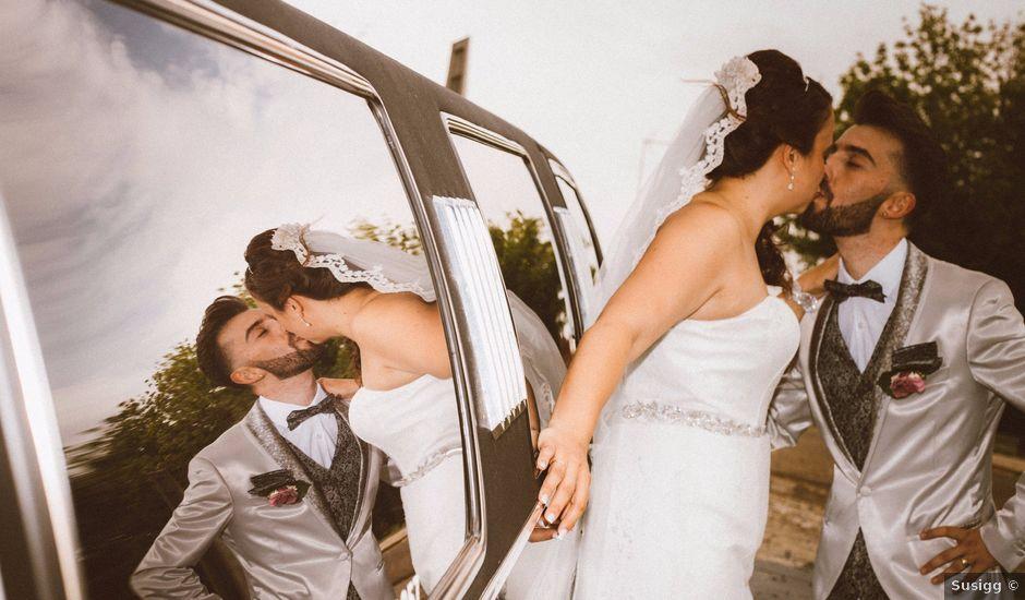 La boda de Omar y Sheila en Benavente, Badajoz
