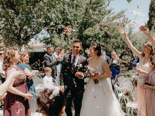 La boda de Alexandra y Lucian