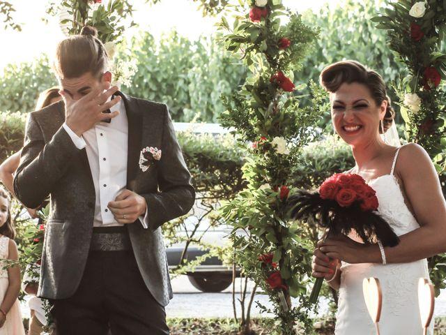 La boda de Atenea y Joel