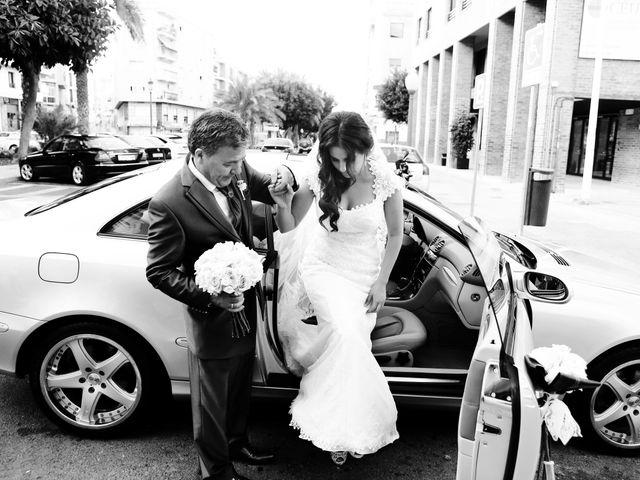 La boda de Yago y Merche en Elx/elche, Alicante 10