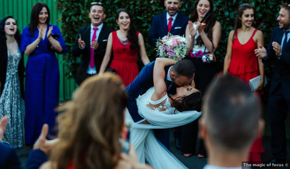 La boda de Jorge y Fany en Santiago De Compostela, A Coruña