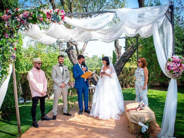 La boda de Elena y Javier en Polinya, Barcelona 38