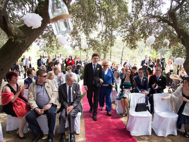 La boda de Àlex  y Montse  en Calders, Barcelona 24