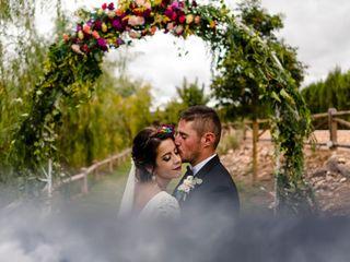 La boda de Cristo y Miriam