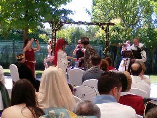 La boda de Sarah y David 2