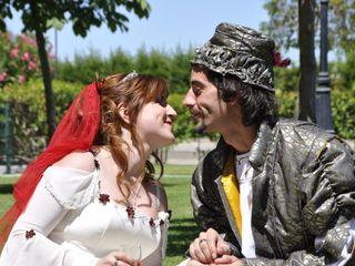 La boda de Sarah y David