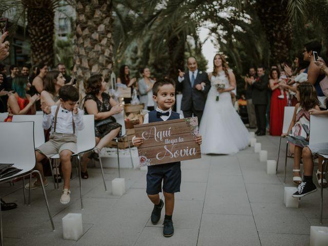 La boda de Andreu y Anet en Valencia, Valencia 72