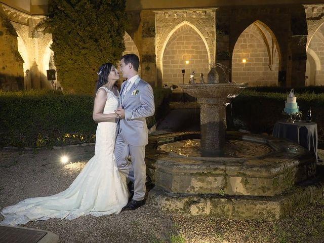La boda de Priscila y Diego en Monasterio De Piedra, Zaragoza 3