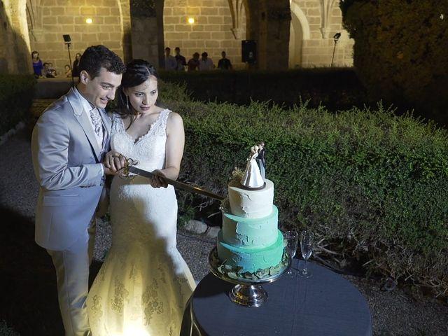 La boda de Priscila y Diego en Monasterio De Piedra, Zaragoza 4