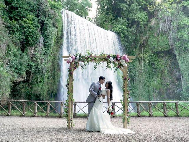 La boda de Priscila y Diego en Monasterio De Piedra, Zaragoza 1