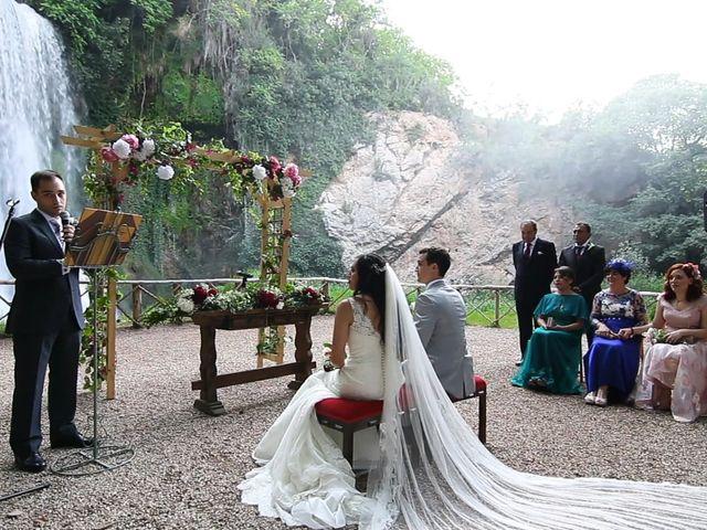 La boda de Priscila y Diego en Monasterio De Piedra, Zaragoza 2