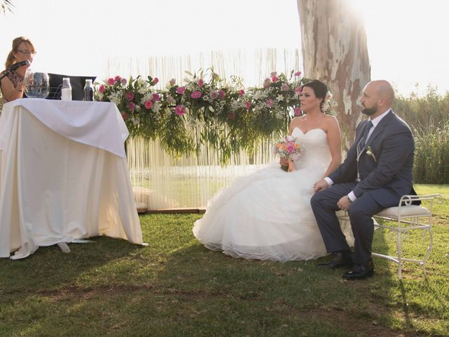La boda de Jose y Jordana en El Palmar, Valencia 12