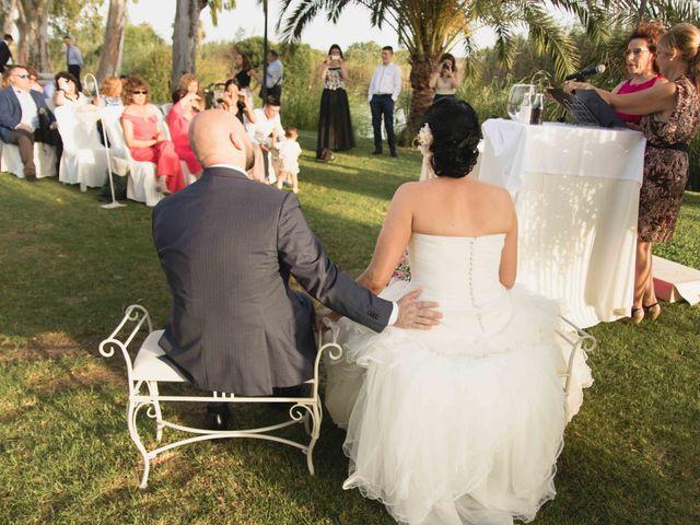 La boda de Jose y Jordana en El Palmar, Valencia 20