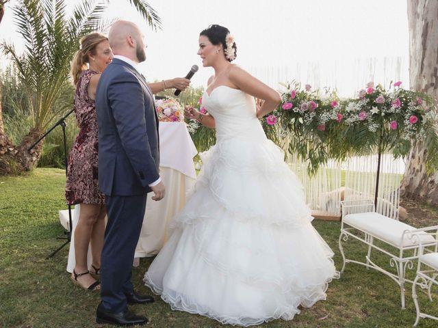 La boda de Jose y Jordana en El Palmar, Valencia 33