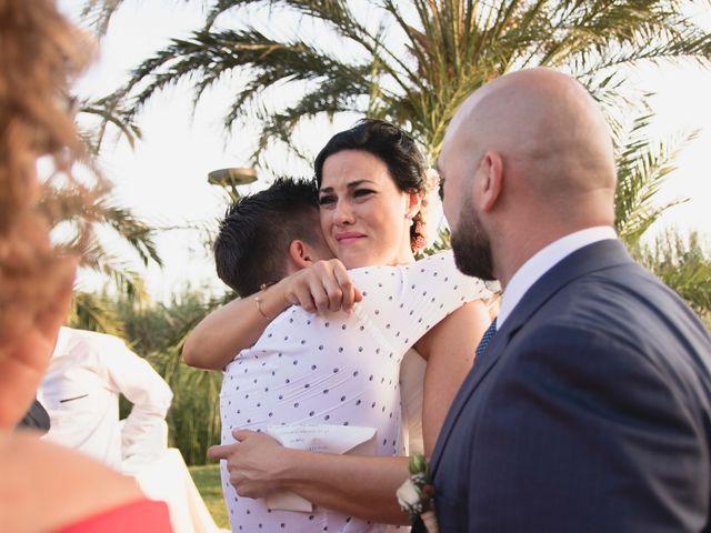 La boda de Jose y Jordana en El Palmar, Valencia 39