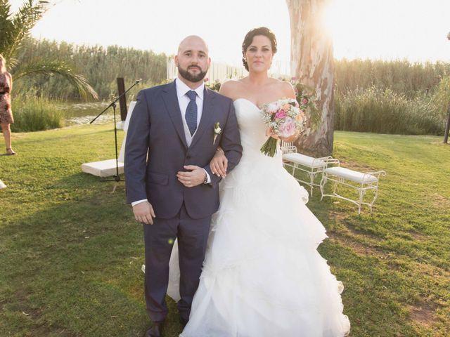 La boda de Jose y Jordana en El Palmar, Valencia 40