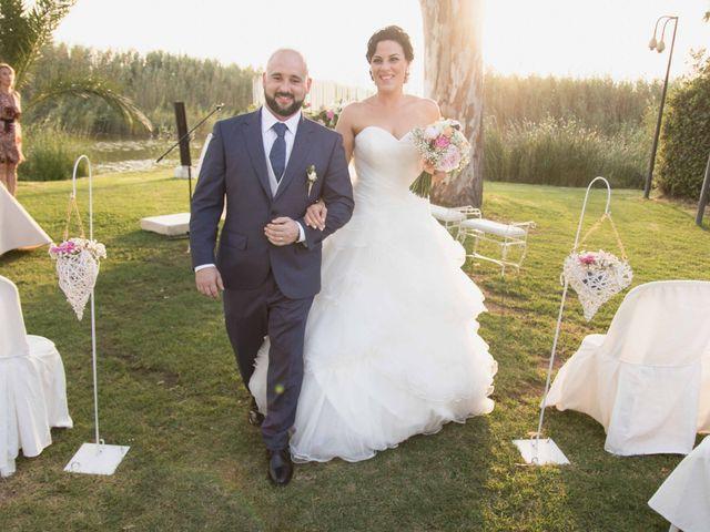 La boda de Jose y Jordana en El Palmar, Valencia 41