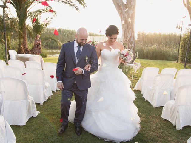 La boda de Jose y Jordana en El Palmar, Valencia 42