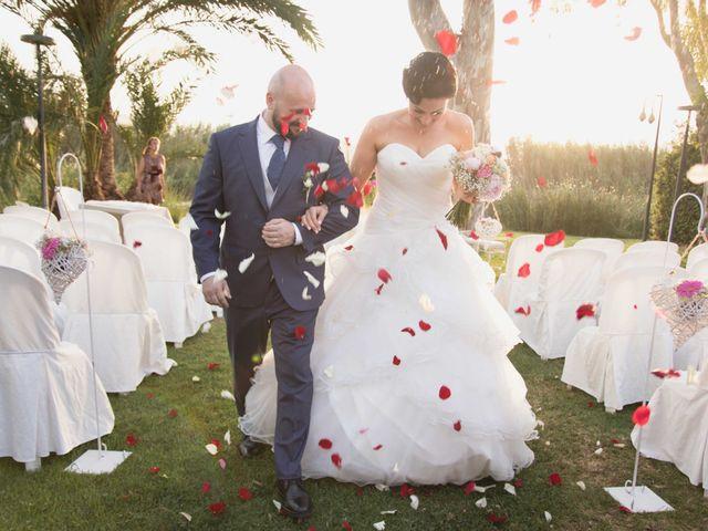 La boda de Jose y Jordana en El Palmar, Valencia 43