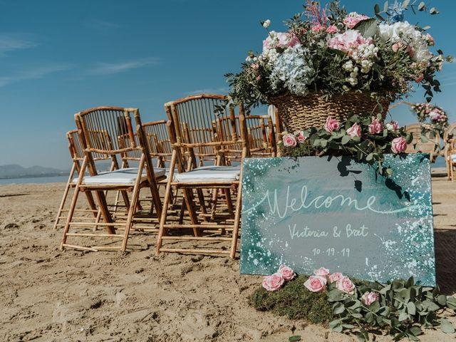 La boda de Bret y Victoria en La Manga Del Mar Menor, Murcia 1