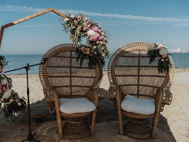 La boda de Bret y Victoria en La Manga Del Mar Menor, Murcia 3