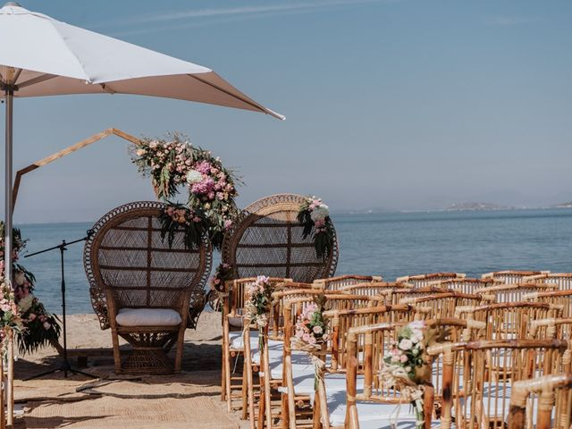 La boda de Bret y Victoria en La Manga Del Mar Menor, Murcia 6