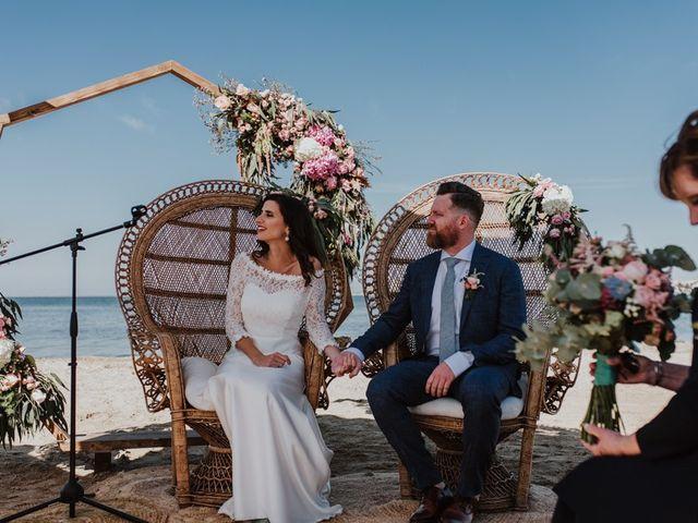 La boda de Bret y Victoria en La Manga Del Mar Menor, Murcia 8