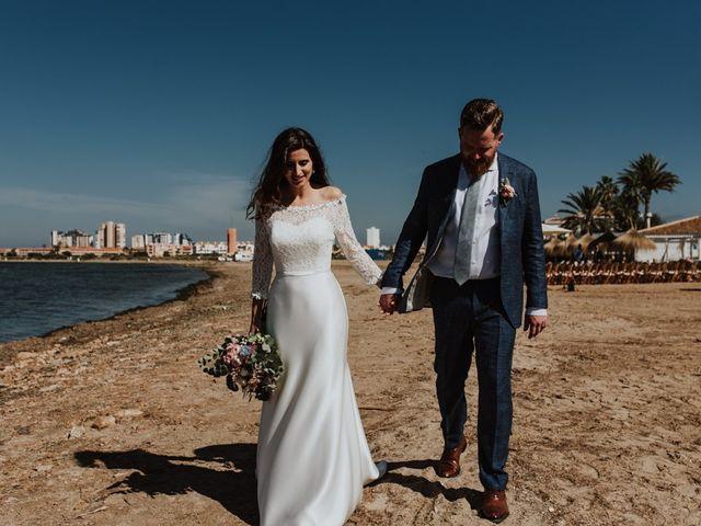 La boda de Bret y Victoria en La Manga Del Mar Menor, Murcia 11