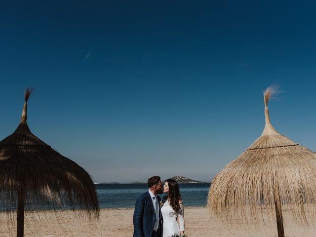 La boda de Bret y Victoria en La Manga Del Mar Menor, Murcia 12
