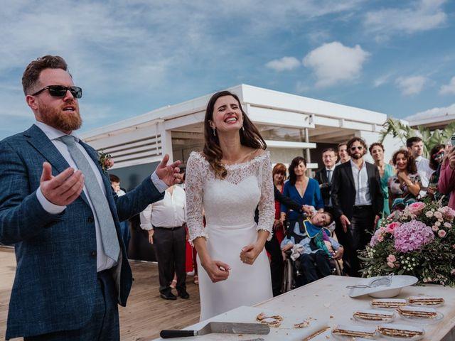 La boda de Bret y Victoria en La Manga Del Mar Menor, Murcia 20