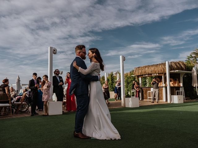 La boda de Bret y Victoria en La Manga Del Mar Menor, Murcia 25