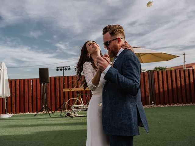 La boda de Bret y Victoria en La Manga Del Mar Menor, Murcia 26