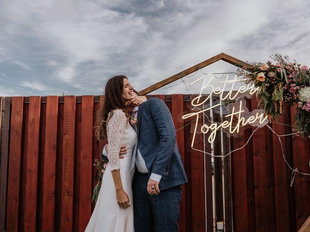 La boda de Victoria y Bret