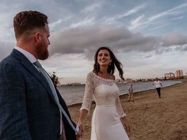 La boda de Bret y Victoria en La Manga Del Mar Menor, Murcia 34