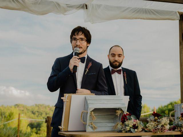 La boda de Xavi y Júlia en Maians, Barcelona 123