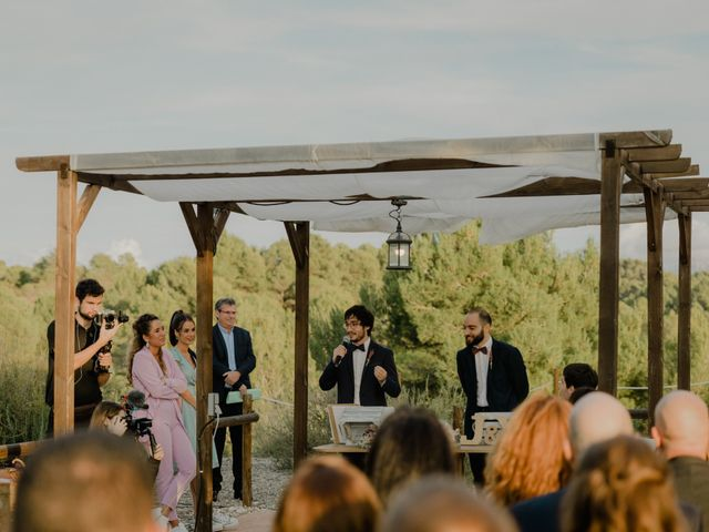 La boda de Xavi y Júlia en Maians, Barcelona 129