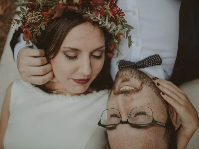 La boda de Les y Chema en Laias, Orense 33