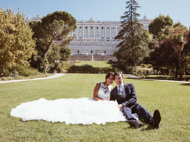 La boda de María y Ángel en Madrid, Madrid 50