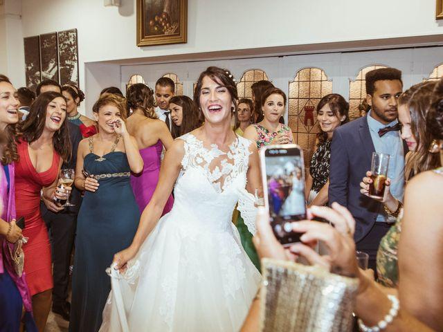 La boda de María y Ángel en Madrid, Madrid 69