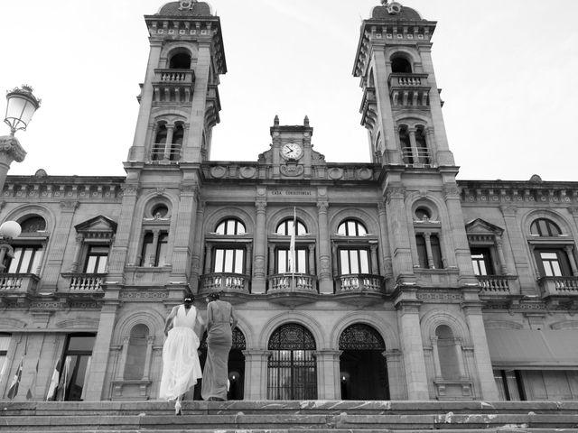 La boda de Pilar y Oihana en Donostia-San Sebastián, Guipúzcoa 1