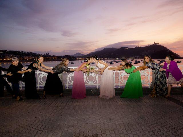 La boda de Pilar y Oihana en Donostia-San Sebastián, Guipúzcoa 16