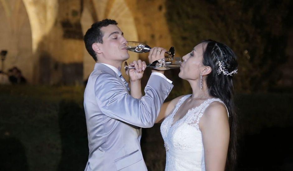 La boda de Priscila y Diego en Monasterio De Piedra, Zaragoza