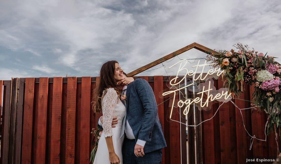 La boda de Bret y Victoria en La Manga Del Mar Menor, Murcia