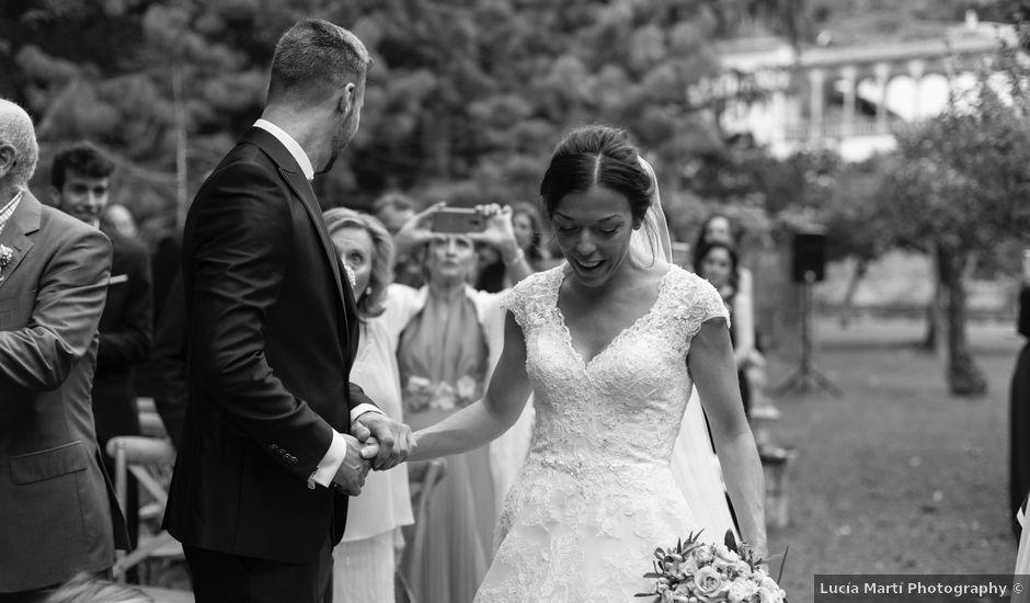 La boda de Dani y Cris en Esporles, Islas Baleares