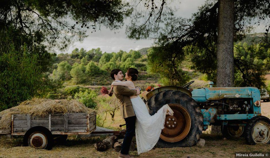 La boda de Xavi y Júlia en Maians, Barcelona
